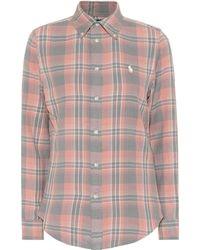 Polo Ralph Lauren - Plaid Cotton Shirt - Lyst