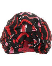 Valentino - Printed Silk Turban - Lyst
