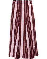 Gabriela Hearst - Cashmere And Silk Skirt - Lyst