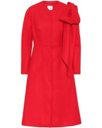 Delpozo - Wool And Cashmere Coat - Lyst