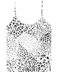 Equipment - Printed Silk Camisole - Lyst