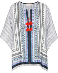 Tory Burch - Blaire Cotton Poncho - Lyst