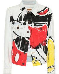 Marc Jacobs - X Disney® Printed Denim Jacket - Lyst