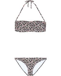 Tomas Maier - Floral Printed Two-piece Swim Suit - Lyst