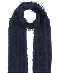 Chloé - Wool And Silk Scarf - Lyst