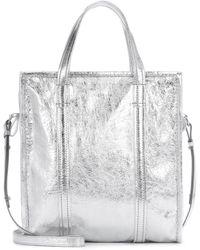 Balenciaga - Bazar S Leather Shopper - Lyst