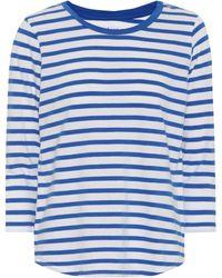 Velvet - Neville Striped Cotton Top - Lyst