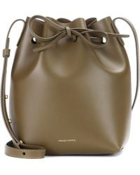 Mansur Gavriel - Small Leather Bucket Bag - Lyst
