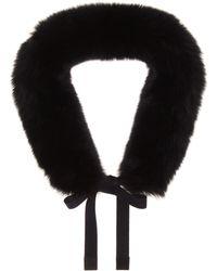 Max Mara - Lipsia Fox Fur Hood Trim - Lyst