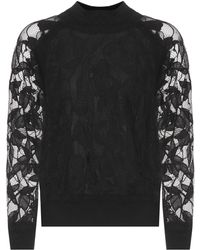 Rag & Bone - Sofiya Cotton-blend Lace Jumper - Lyst
