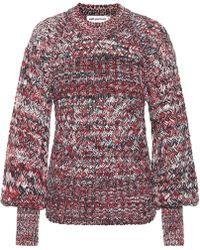 Self-Portrait - Pullover aus Baumwolle und Wolle - Lyst