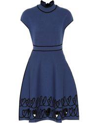 Fendi - Scribbled Heart Jumper Dress - Lyst