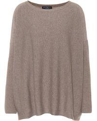 Ferragamo - Oversized Cashmere Sweater - Lyst