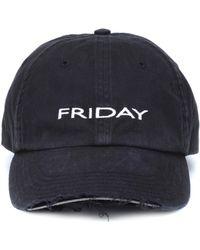 Vetements - Friday Cotton Cap - Lyst