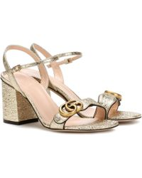 Gucci - Leather Sandals - Lyst