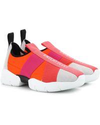 Emilio Pucci - Sneakers mit Veloursleder - Lyst