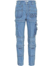 Balenciaga - Jeans aus Baumwolle - Lyst