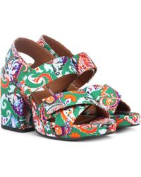5d7748b4 Women's KENZO Sandal heels Online Sale - Lyst