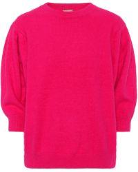 Caroline Constas - June Angora-blend Sweater - Lyst