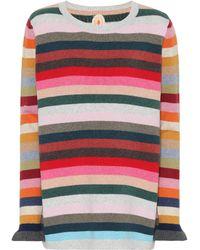 Jardin Des Orangers - Striped Wool-blend Jumper - Lyst