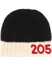 CALVIN KLEIN 205W39NYC - Knitted Wool Beanie - Lyst