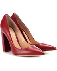 Gianvito Rossi - Exclusive To Mytheresa. Com – Leather Pumps - Lyst