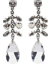 Isabel Marant - Peace Embellished Drop Earrings - Lyst