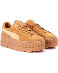 PUMA - Cleated Creeper Suede Sneakers - Lyst