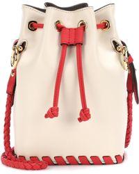 Fendi - Mon Trésor Small Leather Bucket Bag - Lyst