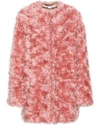 Stella McCartney - Mohair-blend Coat - Lyst