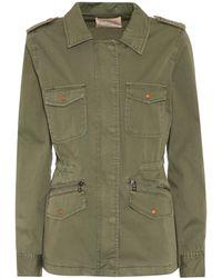Velvet - Ruby Cotton Jacket - Lyst