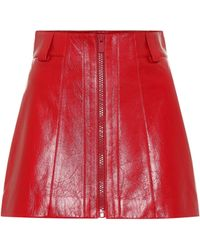 96b3d37f33 Leather Skirts - Women's Designer Leather Skirts - Lyst
