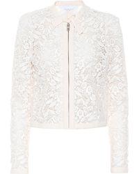 Giambattista Valli - Cotton-blend Guipure Lace Jacket - Lyst