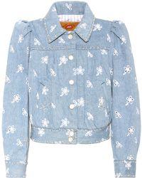 Marc Jacobs   Embellished Denim Jacket   Lyst