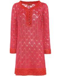 Missoni - Zig-zag Knitted Dress - Lyst