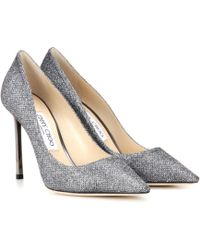 Jimmy Choo - Romy 100 Glitter Court Shoes - Lyst