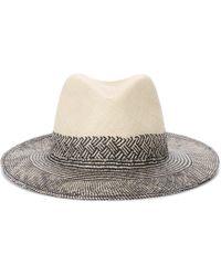Rag & Bone - Straw Panama Hat - Lyst