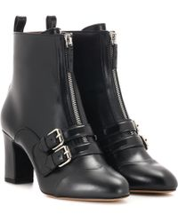 Tabitha Simmons - Axel Leather Ankle Boots - Lyst