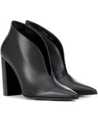 Stella McCartney - Bottines en cuir synthétique - Lyst