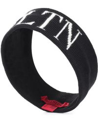 Valentino - Vltn Wool And Cashmere Headband - Lyst