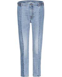 Stella McCartney - Cotton Blend Jeans - Lyst