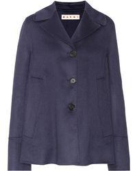 Marni - Wool, Alpaca And Cashmere Jacket - Lyst