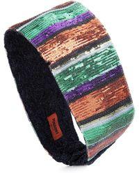 Missoni - Haarband mit Pailletten - Lyst