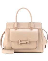 Tod's | Double T Leather Shopper | Lyst