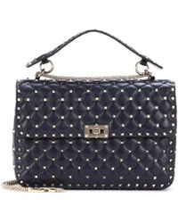 Valentino - Garavani Free Rockstud Spike Large Leather Shoulder Bag - Lyst