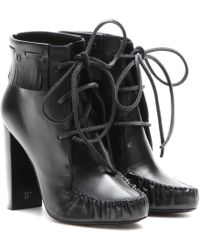 Tom Ford - Santa Fe Leather Ankle Boots - Lyst