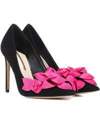 Sophia Webster - Exclusive To Mytheresa – Jumbo Lilico Suede And Leather Court Shoes - Lyst