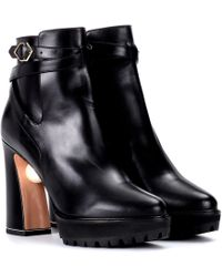 Nicholas Kirkwood - Ankle Boots aus Leder - Lyst