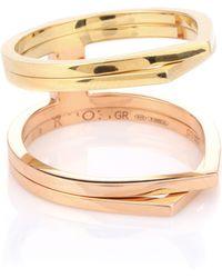 Repossi - Exclusivo en mytheresa - anillo de oro de 18 ct Antifer - Lyst