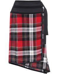 Public School - Mak Ilha Plaid Skirt - Lyst
